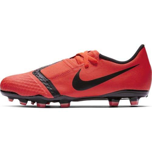 Nike Phantom Venom Academy FG Zapatillas de Fútbol, Unisex Niños, Multicolor (Bright Crimson/Black-Bright Crimson 600), 27 EU