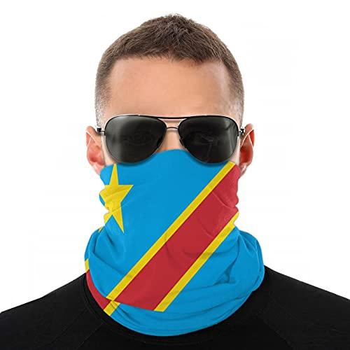 Xiaoxian Bandera de Camboya transpirable protector de cuello protector de pierna máscara facial bufanda turbante pasamontañas sombrero bufanda hombres y mujeres máscara facial