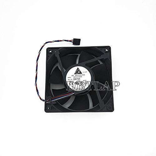 DBTLAP Ventilador de la CPU del Ordenador portátil para DELL Y4574 NN495 D8794 YK550 Optiplex 210L 320 360 330 520 620 740 745 755 760 Case Ventilador PV123812DSPF AFC1212DE 120 * 120 * 38MM