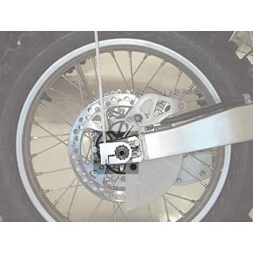 Wheeler Whips Clamp On Motorcycle Flag Holder 32mm Silver - Fits: Honda CR125R 2000-2007