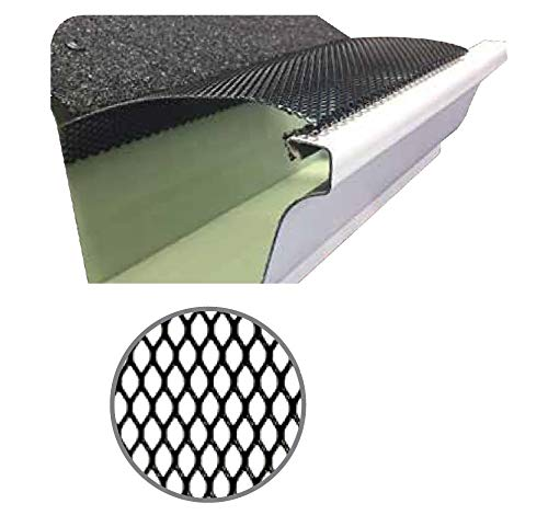 (100 Feet) Ultra Flo Leaf Guard Gutter Protector for 5'...