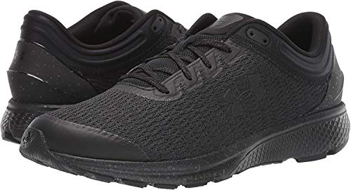 Under Armour Men's Charged Escape 3 Running Shoe, Black (002)/Black, 9.5