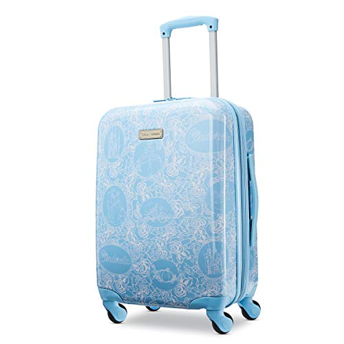 American Tourister Disney Hardside Luggage with Spinner Wheels, Cinderella, Carry-On 21-Inch