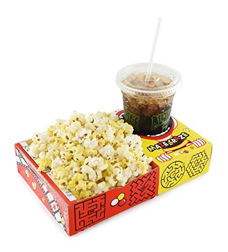 Snappy Maze Craze Combo Movie Popcorn Trays, 50Count