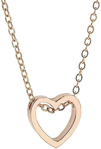 ZPPYMXGZ Co.,ltd Collar Moda Mujer Collar S Colgante Colgante en Forma de corazón Colgante Collar Joyas Collar Largo Collar Personalizado