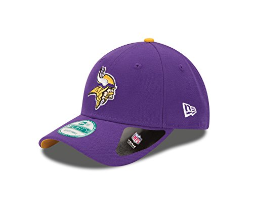 New Era Herren The League 9Forty Minnesota Vikings Offical Team Colour Baseball Cap, One Size