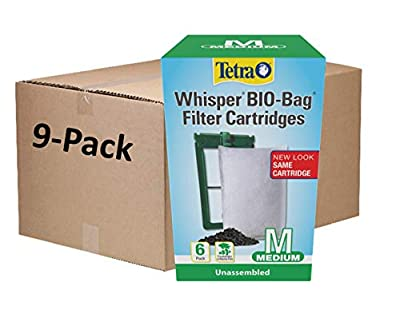 Tetra Whisper Bio-Bag Filter Cartridges For Aquariums - Unassembled