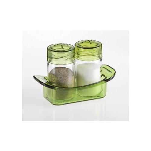 Herevin Salzstreuer Set 70 cc Pfefferstreuer Pfefferbehälter Pfefferspender Salzspender Salzbehälter