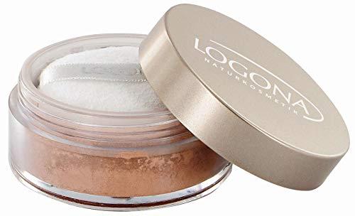 LOGONA Naturkosmetik Loose Face Powder No. 01 Beige, Gesichtspuder, Heller Hautton, Natural Make-up,...