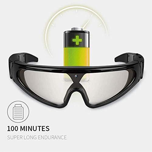 1080p Hd camera skibril mini Dvr recorder groothoek camera zonnebril volledige ondersteuning 32 g TF kaart groot geheugen camera glas