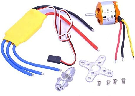 Xiangtat A2212 1000kv Outrunner Brushless Motor 30a ESC Electric Speed Controller Set for Rc product image