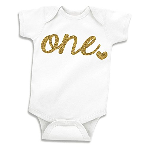 Bump and Beyond Designs Baby Girls First Birthday Outfit Girl One Year Old Birthday (12-18 Months)