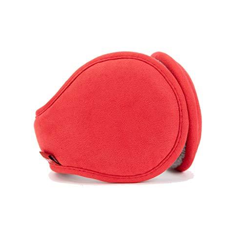ZJ Warm halten Earmuffs Warm Earmuffs Earmuffs Mann-Winter Earmuffs Frauen im Freien Earmuffs Warm warm (Color : Red)