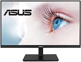 "ASUS VA27DQSB 27"" Monitor, 1080P Full HD, 75Hz, IPS, Adaptive-Sync, Eye Care, HDMI DisplayPort VGA USB Hub, Frameless, Ergonomic Design, VESA Wall Mountable, Black"