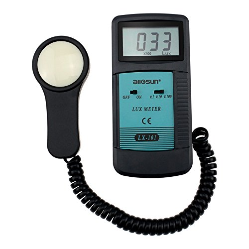 ALLOSUN Digital Lux Meter Light Meter Photometer