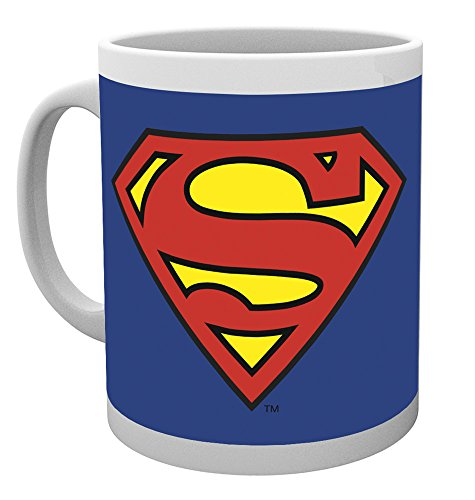 GB Eye LTD, DC Comics, Superman Logo, Taza