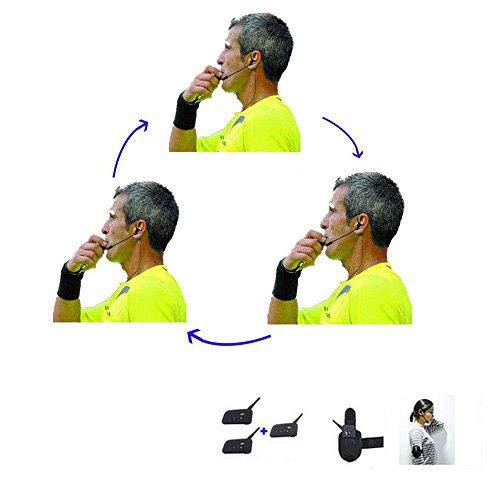 Schiedsrichter-Headset 3 Schiedsrichter...
