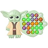 TOMOIN Baby Yoda Fidget Toy Cute Yoda Fidget Toy Pop Bubble Reduce Stress and Anxiety Specially for Kids and Adults (Yoda-1Pcs)