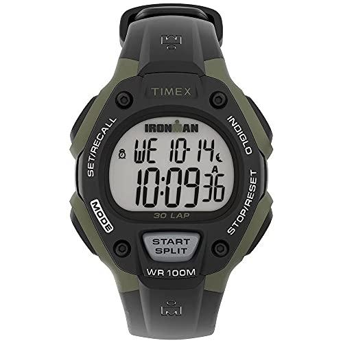 Timex Men's Digital Quarz Uhr mit Kunststoff Armband TW5M44500