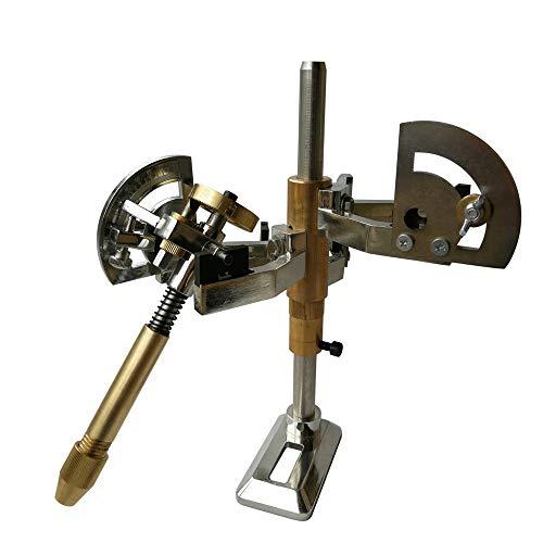 Best Deals! Gem Grinding Faceted Manipulator Jade Polishing Faceting Machine 3 Fork Manipulator With...
