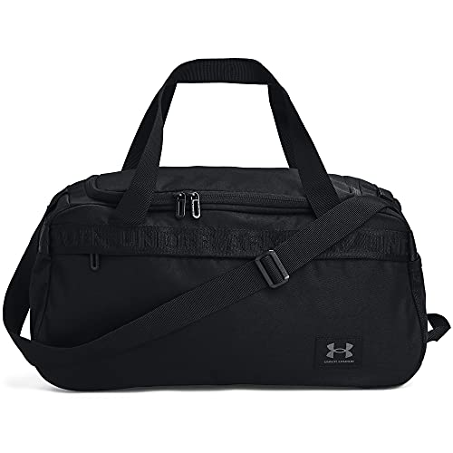 Under Armour Adult Loudon Duffle , Black (002)/Pitch Gray , X-Small
