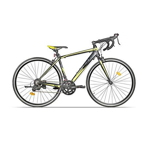 Viva Cruiser 700c Alloy Road Bike (Green/Black, Ideal For : 12+ Years)