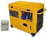 Generatore di Corrente Diesel 6 kw silenziato - Gruppo...