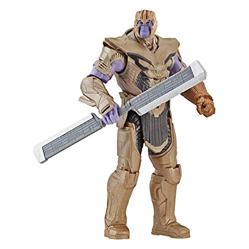 Marvel Avengers: Endgame Thanos Deluxe-Figur aus dem Marvel Cinematic Universe, 15 cm große Actionfigur