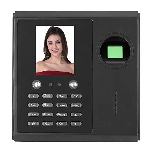 Zeitmesssystem für biometrische Fingerabdrücke 2,8-Zoll-Zeiterfassungsgerät für TFT-Anzeige - Zeiterfassungsuhr für die Erkennung von Fingerabdrücken/Gesichtern/Passwörtern