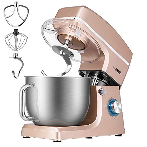VIVOHOME Kitchen Electric Food Mixer, Champagne