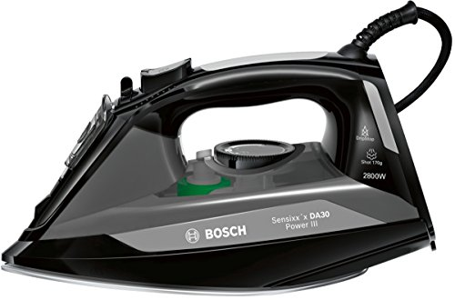 Bosch TDA3020GB Steam iron 2800W Negro, Gris - Plancha (Plancha a vapor, 3 m, 170 g/min, Negro, Gris, 40 g/min, 0.32 L)