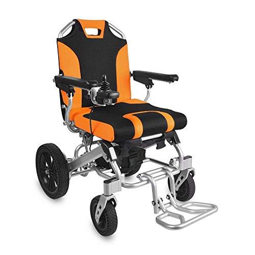MJK Elektrorollstühle, Elektrorollstuhl, Tragbares, Zusammenklappbares, Bürstenloses, Leichtes, Älteres, Behindertes Scooter-Lithiumbatterie-Elektroauto Für Erwachsene, Gewicht: 130 Kg