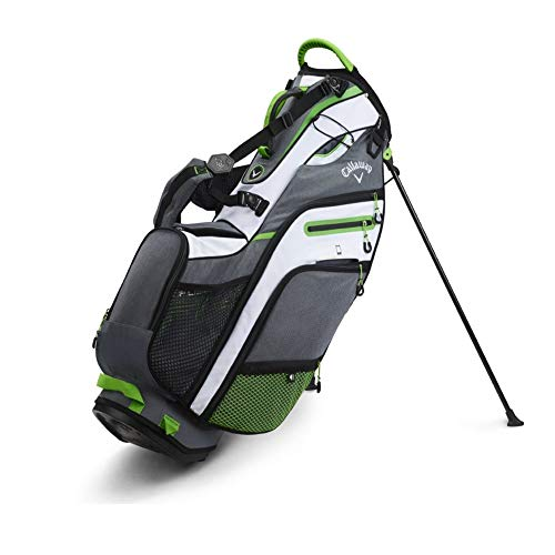 Callaway Golf 2019 Fusion 14 Sac Support, Homme, 5119053, Titanium/White/Acid Green, Taille Unique