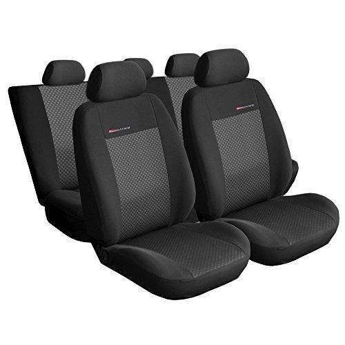 Auto. schonbezüge siège rabattable coussins de siège bien adapté pour audi a4 b5 modèles 1994–2001 break elegance line **