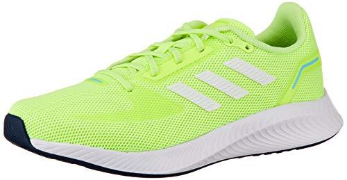 adidas RUNFALCON 2.0, Zapatillas de Running Mujer, AMALRE/FTWBLA/CELBRU, 36 2/3 EU
