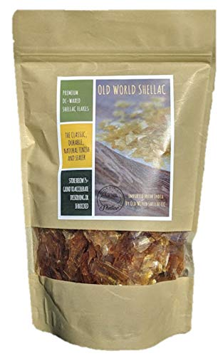 De-Waxed Blonde Shellac Flakes 1 lb. (16oz.)