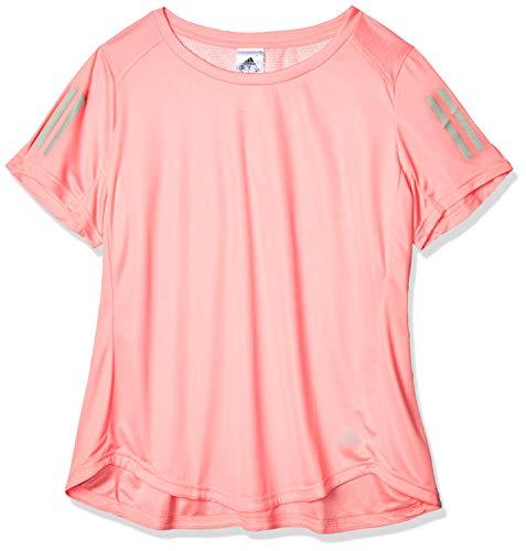 adidas Own The Run tee Camiseta de Manga Corta, Mujer, Glory Pink, 2X