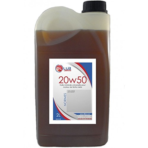 DLLUB - HUILE MINERALE SAE 20W50-2 litres