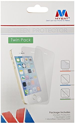 MyBat Screen Protector Twin Pack for Samsung G860 (Galaxy S5 Sport) - Retail Packaging - Clear
