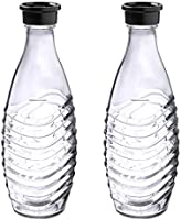 Sodastream 1047200490 flaska glass, 2 x 600ml, genomskinlig