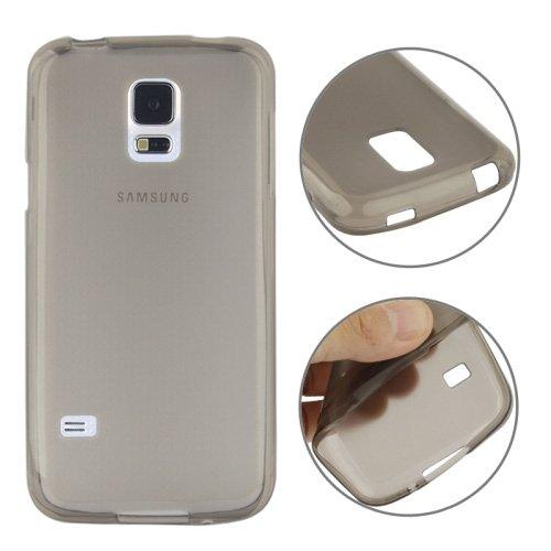 PCPC Estuche móvil Mate Textura TPU para Samsung Galaxy S5 Mini / G800 Traje para Todas Las Personas (Color : Gris): Amazon.es: Hogar