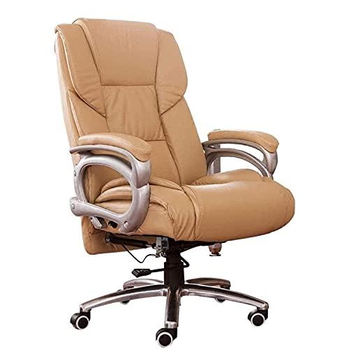 KMDJ Chefstuhl Möbel Boss Stuhl Home Computer Stuhl Modern Minimalist Bürostuhl Leder Drehstuhl Massagestuhl