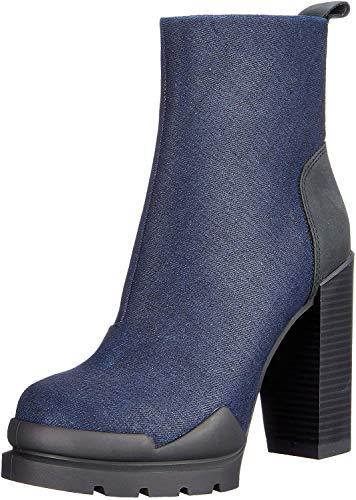 G-STAR RAW Damen Rackam Heel Boot Stiefeletten, Blau (Dk Navy 881), 39 EU