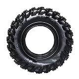 TAOMIAO Neumáticos, Juguete De Goma Duradero De Goma, Juguete De Perros De Goma Natural Interactivo para Superitos Supersillos, Negro