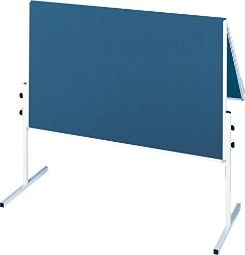 Franken CC-UMTF-G03 Moderationstafel (X-tra Line, 120 x 150 cm) filz blau