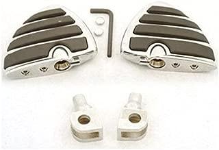 Tarazon Pedane Avanzate Forward Controls Foot Pegs per Kawasaki Vulcan Drifter VN 800 1995-2006 96 97 98 99 00 01 02 03 04 05