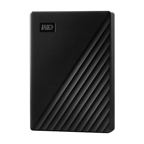 WD ポータブルHDD 4TB USB3.0 ブラック My Passport 暗号化 パスワード保護 外付けハードディスク / 3年保証 WDBPKJ0040BBK-WESN