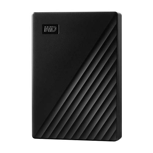 WD ポータブルHDD 4TB USB3.0 ブラック My Passport 暗号化 パスワード保護 外付けハードディスク / 3年保...