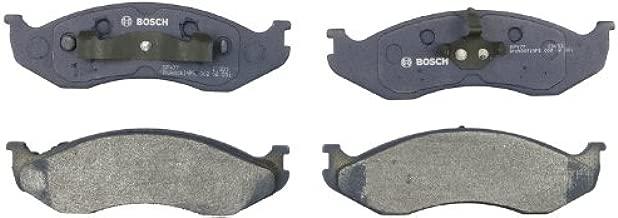 Bosch BP477 QuietCast Premium Semi-Metallic Disc Brake Pad Set For: Jeep Cherokee, Comanche, Grand Cherokee, Grand Wagoneer, TJ, Wagoneer, Wrangler, Front