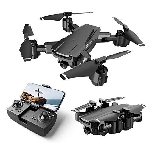 ZHCJH HUAXM Drone GPS WiFi FPV, Drohne mit Kamera, für Erwachsene, 1080P HD, Drohne für Kinder, Kinder, Drohnenvideo, Drohne mit breiter Engelskamera.